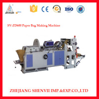 High speed with V shape paper bag making machine SV-ZD600