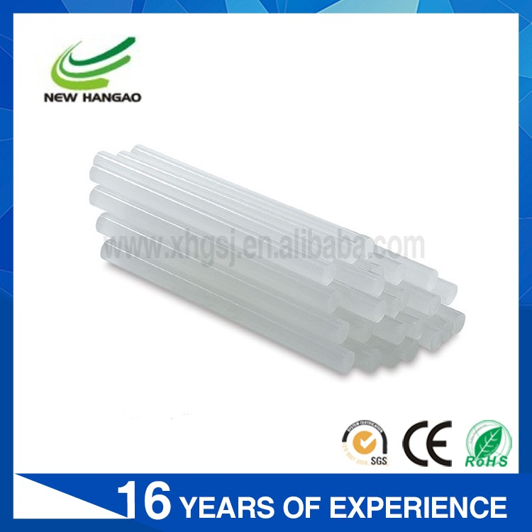 Hot selling white translucent color hot melt silicon stick glue with factory price