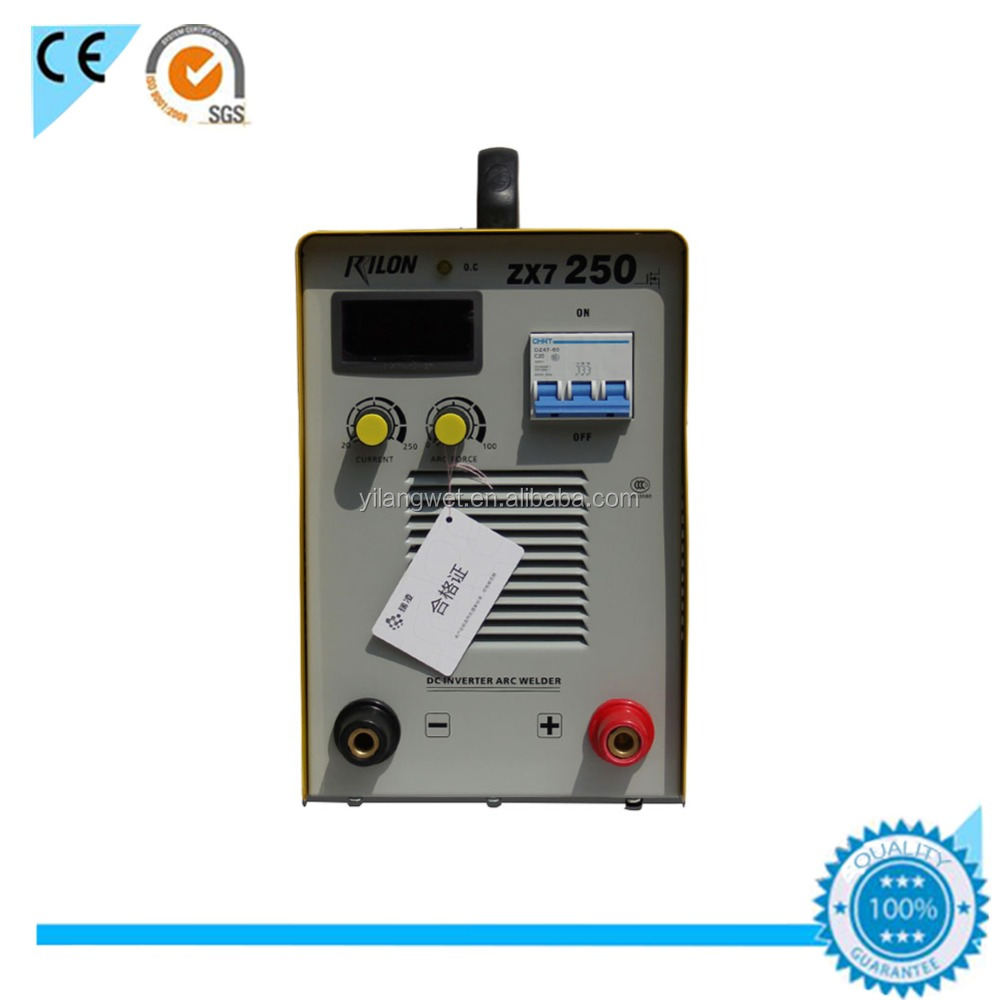 China supplier rilon best selling mma inverter welding machine 250