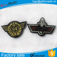 Custom Embroidered Name Patch Biker Tag IRON ON Badge Embroidery