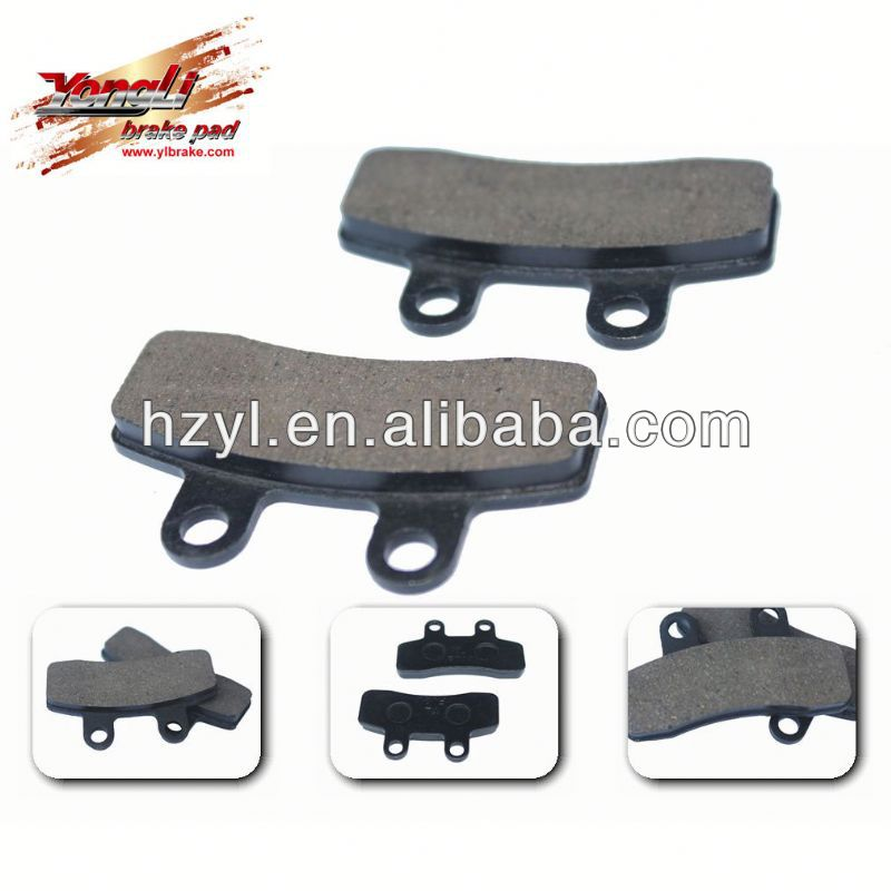 Professional scooter part for motorcycle system brake pad