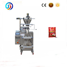 JB-300J automatic piston pump chili sauce,hotpot condiment bag packing machine