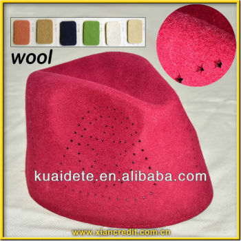 Strong type woolen islamic felt caps