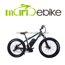 fat bike electric mid drive motor bafang bbs02 48v 500w electric chopper cruiser fat tire snow bike