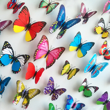 Home decor butterfly 3d wall sticker