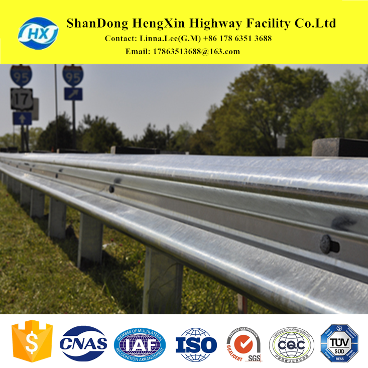 W beam, box beam, Thrie-beam, cable barrier and bridge rail for roadside barrier systems and individual custom fabricated parts