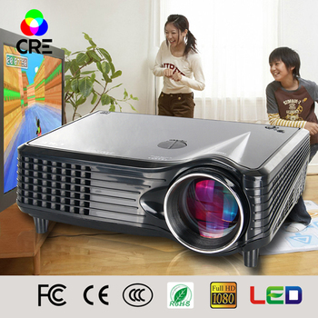 2016 LCD Smart Mini Phone Projector portable fun cinema digital video yes home theater projector CRE X300