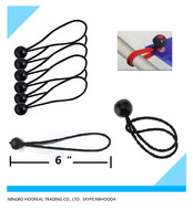 Heavy-Duty 6-Inch Bungee Ball Elastic Cords