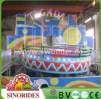 For Sale Fairground Equipment Tagada Rides with Gorgeous LED Lights