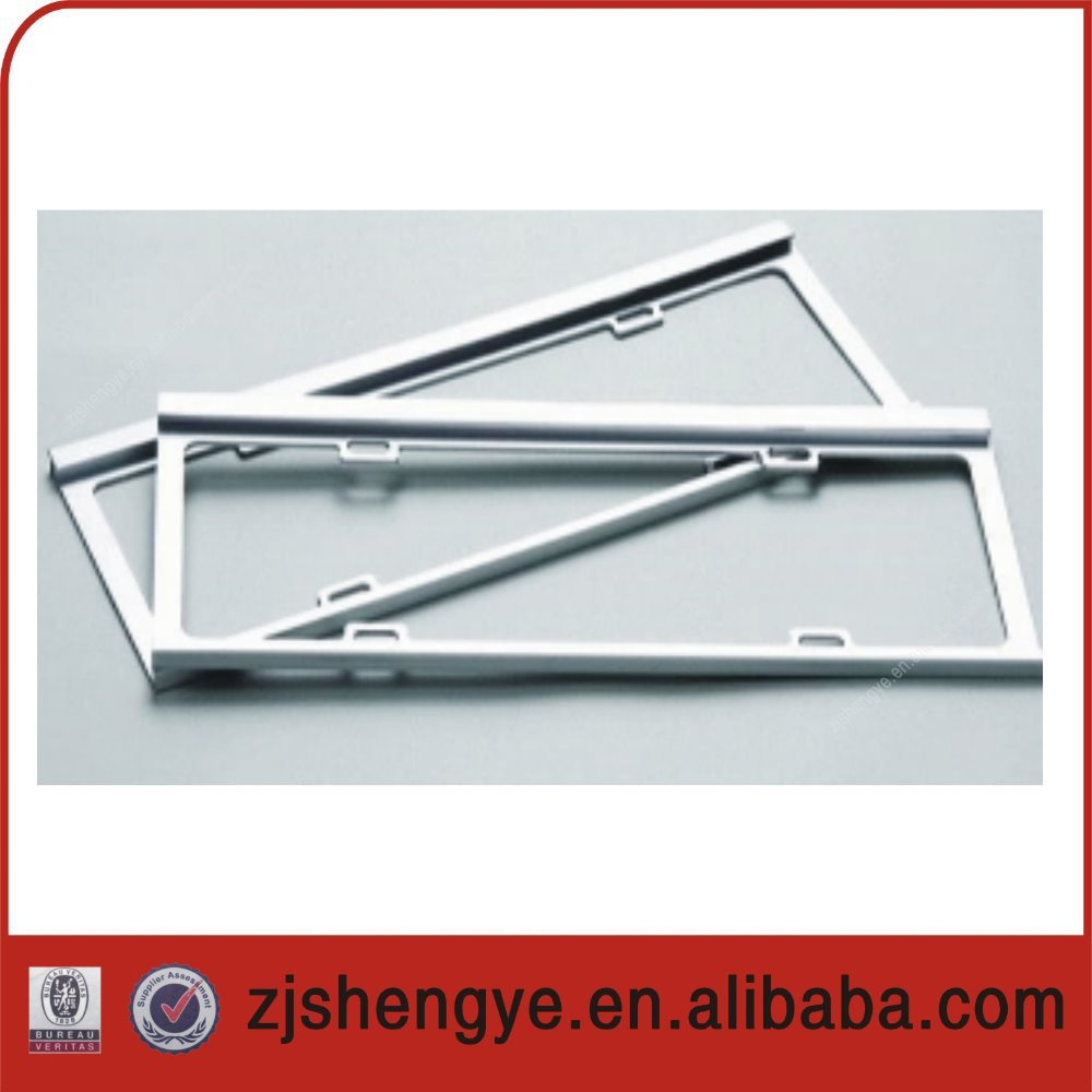 european custom decorative license plate frames