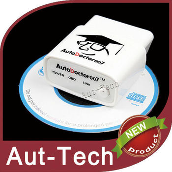 AutoDoctor007 Bluetooth Auto Scanner works for all obd2 eobd vehicles ELM327 compliant