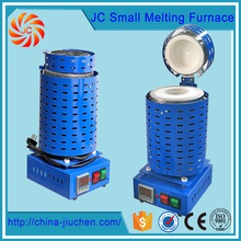 JC New Cast Metal Electric 1kg Gold Silver Copper Aluminum, Stainless Steel Small Melting Furnace for Sale