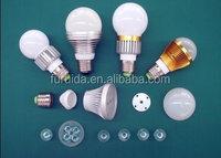 all kinds of led bulb lighting plastic/aluminum/pc