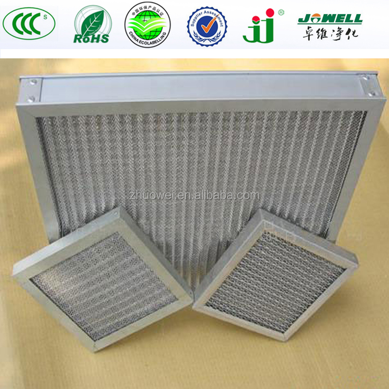 Washable cooker hood metal mesh grease filter pre air for Commercial kitchen grease filters