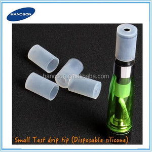 silicon mouthpieces with holes ecig disposable drip test disposable tip covers easy drip 510 drip tips