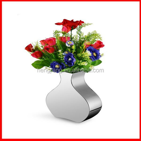 morden home Metal flower Vases