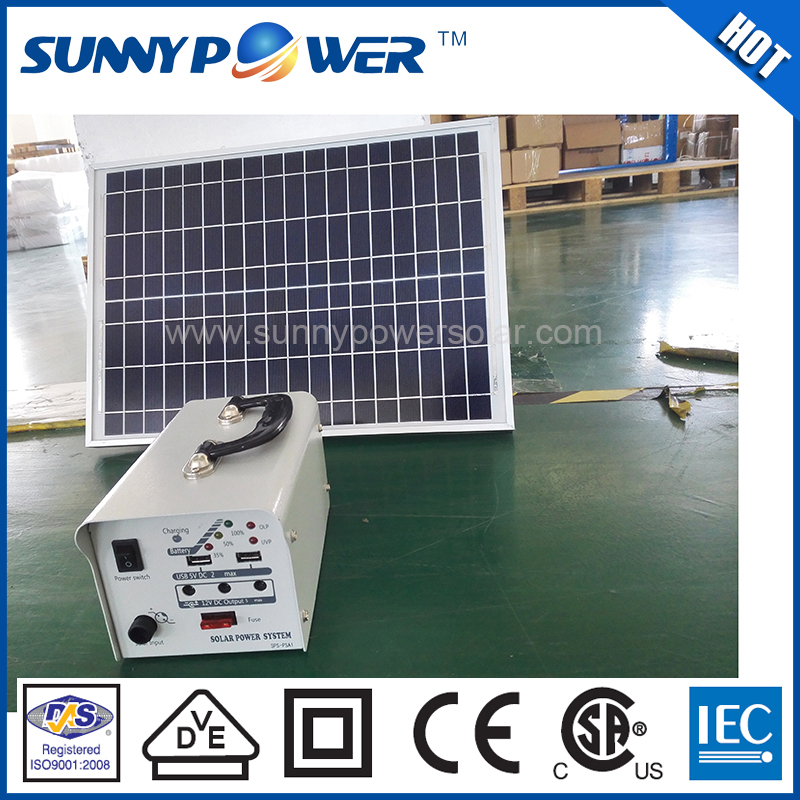 OEM new style 60w mini commercial use mini home solar panel system