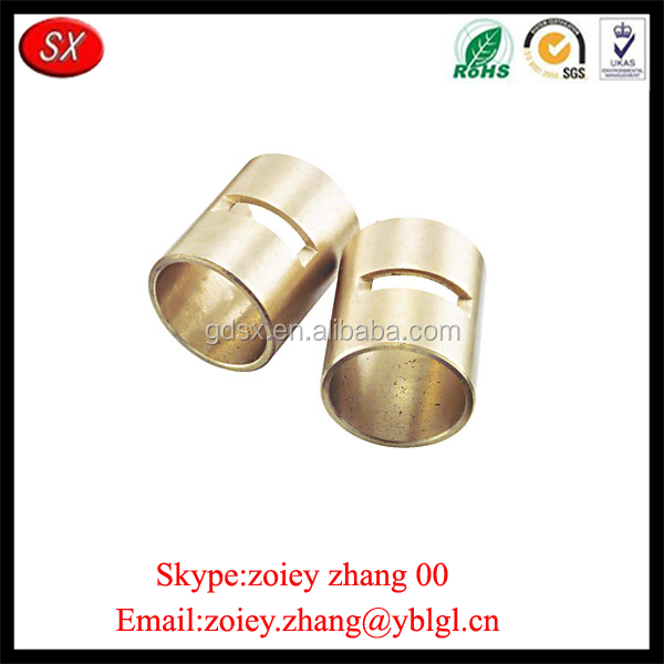 China Manufacturer Machine Processing Bronze Faucet Valve Bushing