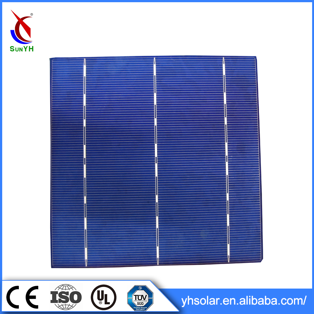 Wholesale Fashion Solar Cell Price 4.3W Polycrystalline Solar Cell 6 Inches