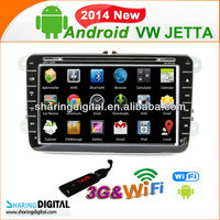 Sharing Digital Android gps sat nav car dvd player system for VW Jetta 2008-2011portable am/fm radio