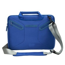 Neoprene Multi-functional Briefcase Carrying Messenger Case Tote Bag with Handle and Shoulder Strap