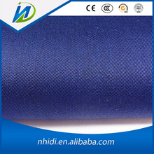 blue polo shirt fabric cvc dyed micro twill fabric