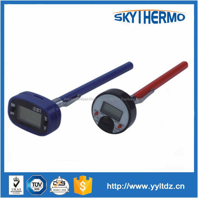 digital temperature sensor of thermometer to 100 degree digital meat thermometer with probe