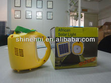 Portable pratical low cost price high quality LED solar lantern with charger converse