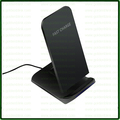 2017 Newest Black color smart cell phone Qi wireless mobile charger