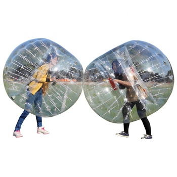 Optimal Vision Clear Inflatable Human Knocker Body Bubble Soccer for Adults and Kids