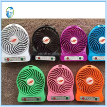 Portable USB air-conditioning home appliances good quality elegant design mini desktop fan with low price