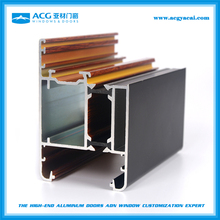 Top selling aluminium profile to make doors and windows china supplier