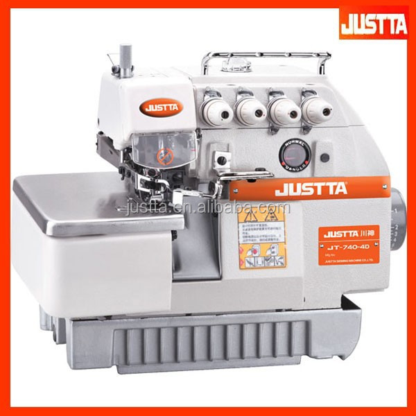 Industrial 3 Thread Overlock Sewing Machine Manual 737 For Sale