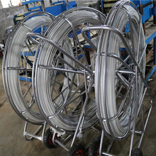 FRP cable pulling systems, Push pulll fiber cable , Fiberglass duct rodder