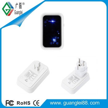 Travel use mini ozone generator 129 LED light control 129