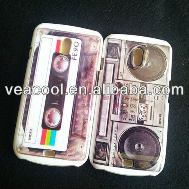 Cassette Tape Plastic Hard Back Phone Case Cover Skin For Samsung Galaxy Nexus i9250