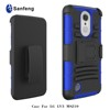 For LG Aristo LV3 Case PC + Silicone Anti Shock Impact Rugged 3D Case For LG LV3 Hard Cover Case