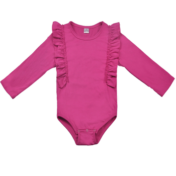 New Born Baby Clothing Plain Color Baby Onesie