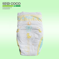 High Absorption Soft Breathable Disposable Sleepy Baby Diaper