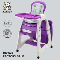 Baby high chair restaurant baby plastic folding high chair baby furniture