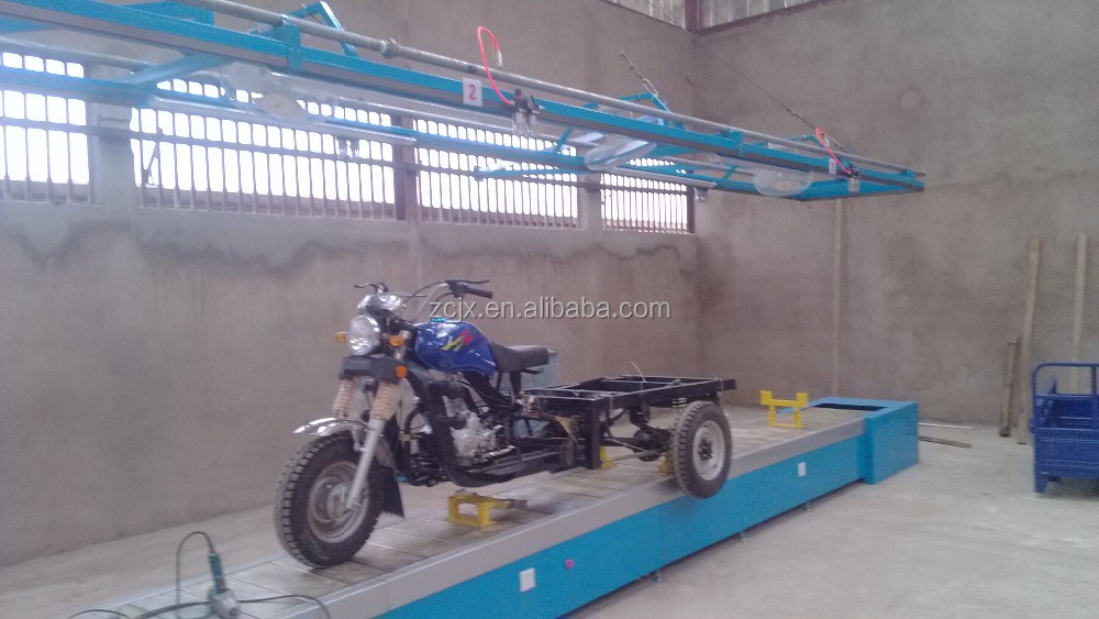 Electric motorcycle / tricycle assembly production line