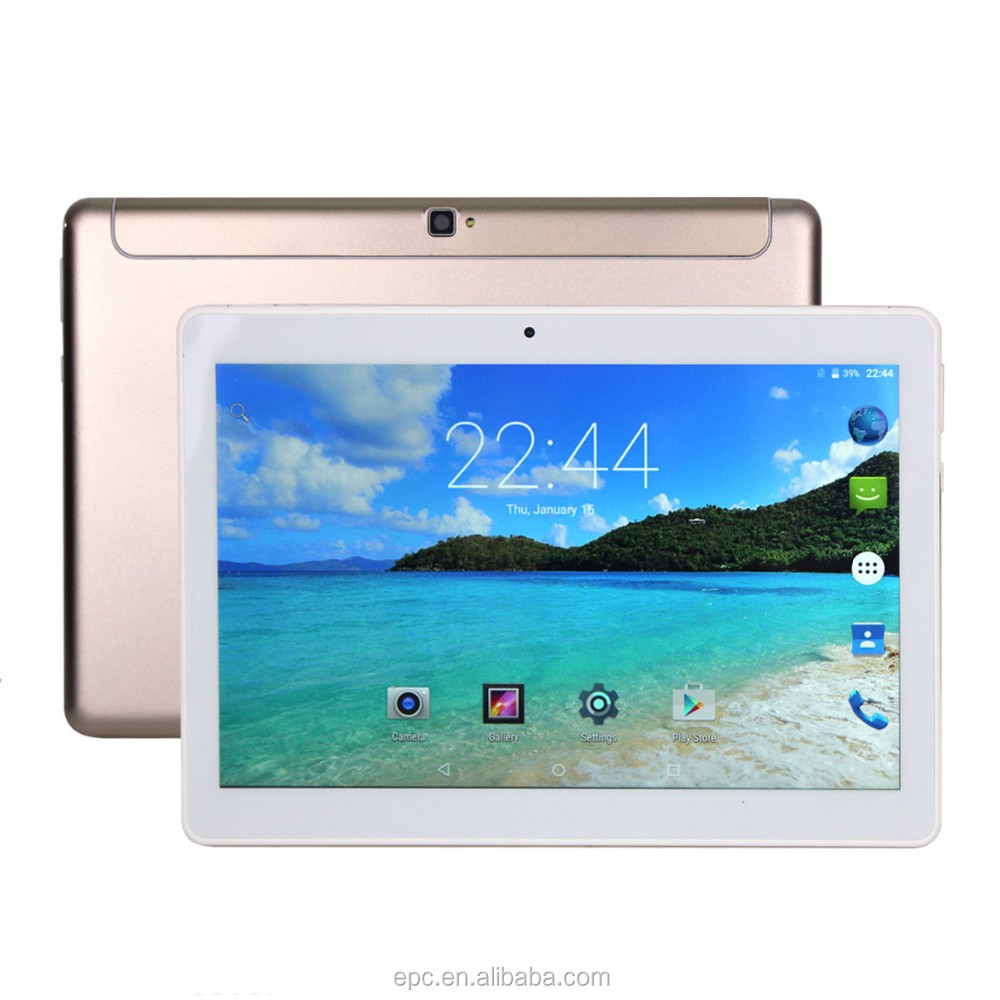 4G LTE tablet PC 10 INCH ips Android 6.0 phone call MTK6753 2GB/32GB 4500mAh Octa Core 2MP+5MP GPS G-Sensor Bluetooth