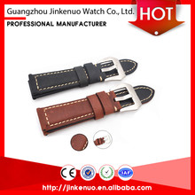 2017 new products premium quick release genuine leather watch strap/smart watch band
