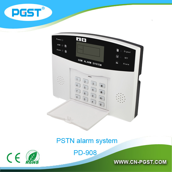 Voice guide PSTN Security alarm system 433mhz contacts home alarm PD-908