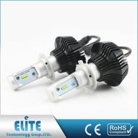 Lightweight High Intensity Ce Rohs Certified Led Headlight Bulb For Car H7 Canbus