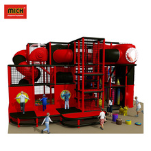Durable Commercial Indoor Playground Jungle Gym Soft Play
