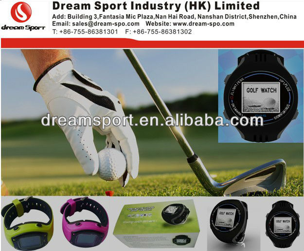 New Arrival Golf Wristwatch/Newest gps golf watch/Smart Golf Scorecard Watch