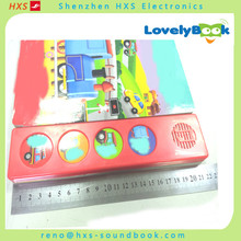 Best Selling children books with sound effects,4 buttons sound books sound module for wholesales