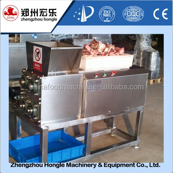Pork processing machine meat separating machine