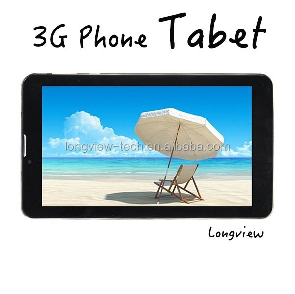 android 2G/3G phablet 7 inch dual core tablet 1G/8G GPS FM BT MTK6572 or 8312 0.3M/2.0 camera